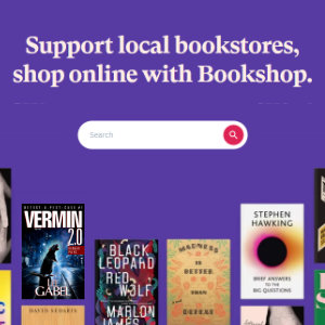 Support Independent Bookstores - Visit Bookshop.org
